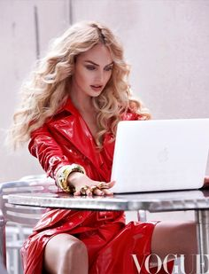 Candice Swanepoel forVogue México September 2013