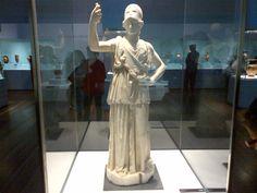 atenea Statue, Art, Greek Mythology, Greek, Serif, Museums, Kunst, Sculpture, Art Education