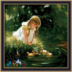 GD 000 – Little Girl & 4 Ducks Canvas Rp 484.000,- Canvas Size: 60 x 60 packaging size: 15,5 x 91 x 5 cm (setara dengan 2 kg)  ALICE painting kit sudah termasuk - Kanvas pattern lukisan yg dibuat dari high grade cotton dengan tekstur halus. - Cat pigment warna yg ramah lingkungan, tidak beracun dan tidak cepat pudar. - Beberapa kuas nylon. - Kertas manual kode warna  Fyi,please contact: Email: jjbigstore@yahoo.com YM: jjbigstore Line: silvblue SMS: 0818 0832 9022 WhatsApp 0896-2860-9094