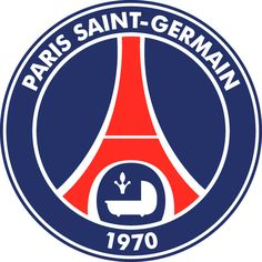 Paris Saint-Germain Football Club (known as Paris Saint-Germain, or PSG) - France Football Team Logos, Soccer Logo, Sports Logo, Soccer Teams, Football Football, Soccer League, Sports Teams, Bundesliga Logo, Rennes