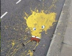 Spongebob splat pants