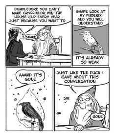These Hilarious Harry Potter Comics Show How Irresponsible Dumbledore Was