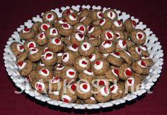 Kořeněné oříškové koláčky