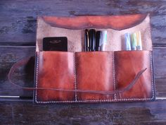 Hey, I found this really awesome Etsy listing at http://www.etsy.com/listing/169708721/pen-pencil-brush-tool-leather-art