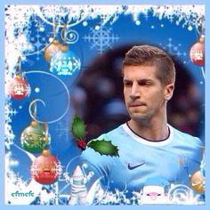 No3: Nastasic MCFC Christmas time wallpaper