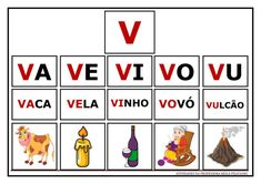 Atividades de Sílabas e palavras para imprimir Portuguese Lessons, Fun Math, Literacy, Preschool, Education, Feliciano, Everton, Alice, Preschool Literacy Activities