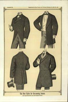 1875 Men's Styles