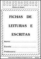 Mistura de Alegria: FICHAS DE LEITURAS E ESCRITAS PARA ALFABETIZAÇÃO, ...