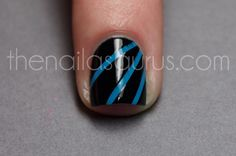Laser Nail Art Tutorial - a tutorial on how to make better laser manis!