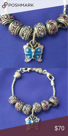 Brighton Love Daisy Bracelet Jewelry And White Enamel