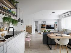 A Scandinavian Style Apartment with a Special Touch of Coziness