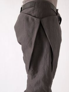 Devoa 8 Pocket Washi (Japanese Paper) Pants   scars, imperfections, and failure.