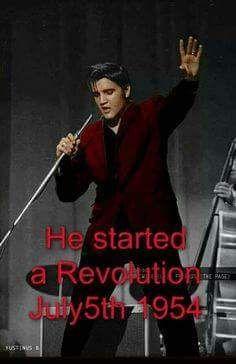 Elvis 1954