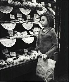 Whitechapel bakery window, ca. 1935 by Edith Tudor-Har