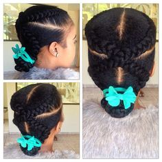 Protective Style - Instagram photo by @keitumokwana via ink361.com