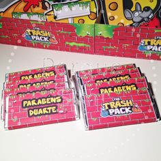 Porque Sim!: Festa Trash Pack