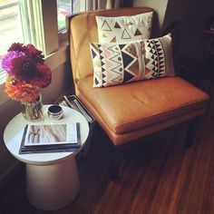 Sunny new seating. #homelove #mywestelm