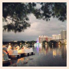 Lake Eola Park in Orlando, FL