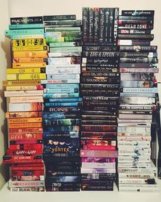 this is how i want my book collection to look like