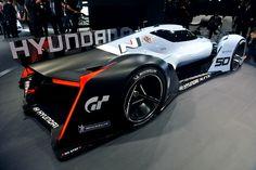 Водородный болид Hyundai N 2025 Vision GT - фото - LiveCars.Ru