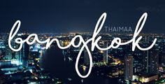 Kohdeopas: Bangkok, Thaimaa 🇹🇭