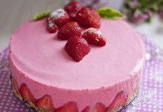 Low Carb No Bake Cheesecake – Low Carb Köstlichkeiten Types Of Desserts, Low Carb Desserts, Sweet Desserts, Low Carb Recipes, No Bake Cheesecake, Cheesecake Recipes, Low Carb Cookies, Low Carb Köstlichkeiten, Weight Watcher