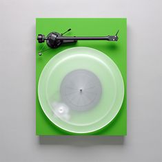 Pro-Ject Debut III turntable photographed by Brad Gillette.