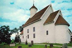 Balke Church on Skreia, Oppland, Norway