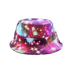 a73efb99122 Radisrad Marz Bucket Hat in Galaxy ( 29) ❤ liked on Polyvore featuring mens
