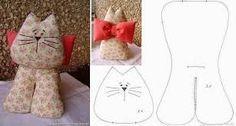 gato deitado peso de porta - Pesquisa Google