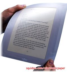 Electronic paper!  2 Words:  I WANT.