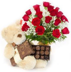 Valentine's Day Packages - Devine Love Package (18 Roses) - Flowerama Columbus - Columbus Florist - Same Day Flower Delivery