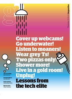 Guardian g2 cover: Lessons from the tech elite