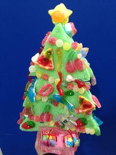Dulce árbol navideño de Dulce Diseño Castellón.