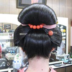 Korean Hairstyles Women, Asian Men Hairstyle, Bun Hairstyles, Wedding Hairstyles, Japanese Hairstyles, Japanese Buns, Japanese Kimono, Updo Styles, Hair Styles