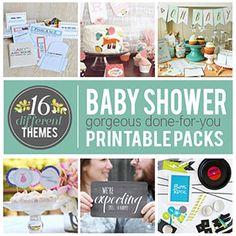 Baby Shower Printable