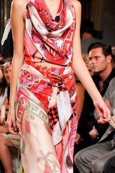 Emilio Pucci Spring 2012 Ready-to-Wear Fashion Show Details