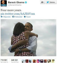 Victoria de Obama en Twitter