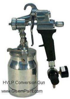 What Paint Hvlp Conversion Gun To Paint Cabinets