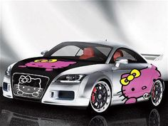 Hello Kitty Car. | LUUUX