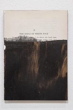 Tim Rollins and K.O.S. - Darkwater (after W.E.B. DuBois)  2013