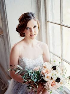 Enchanting French Inspired Bridal Style
