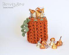 10 Best Free Crochet Pumpkin Patterns: Pumpkin Jar Cozy Crochet Pattern