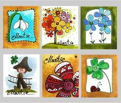 felicitari 1 martie cu martisor 8 Martie, Craft Projects, Projects To Try, Cool Typography, Gift Of Time, Polymer Clay Crafts, Spring Day, Doodles, Romania