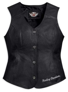 #patches-and-pins-leather-vest-98197-11vw  Women's Vests #2dayslook #fashion #Vests www.2dayslook.com