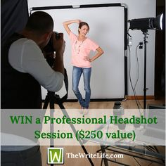 Win a Professional Headshot Session From The Write Life ($250 Value)