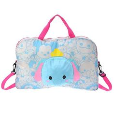 Dumbo Tsum Tsum Pocketable Boston Bag ~ Disney Store Japan.... AWWW THIS IS SO CUTE... ;););))))