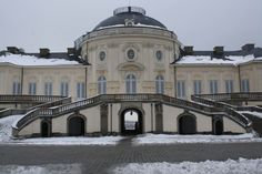 The 250-year-old palace on the outskirts of Stuttgart lived up to its name on a recent wintry afternoon. On a chilly January day, the terrace of the Schloss Solitude, typically busy with visitors, is empty. Tours of the inside of the palace are offered for 4 euros. John Vandiver/Stars and Stripes
