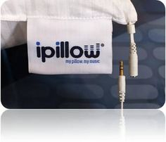 Listen to music in bed through your pillow - heaven!