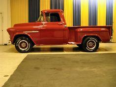 1955 chevy truck | 1955 Chevrolet Truck - Stock #3299-STL